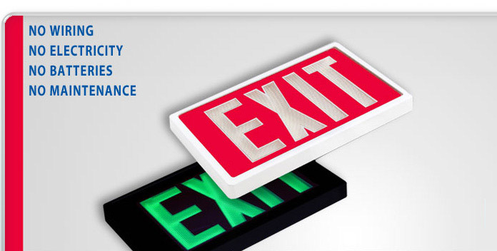 Srb technologies exit signs